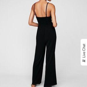 Express black jumpsuit SIZE M
